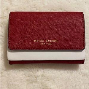 Henri Bendel Red Card Holder